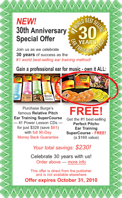 30-Year Anniversary Special Offer