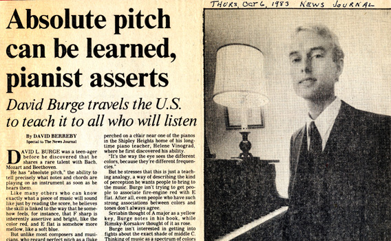 How I Discovered the Secret to Perfect Pitch, by David Lucas Burge